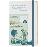 Moleskine 2014 Planner 18 Month Peanuts Weekly Notebook Pocket White - Mese Free Planner