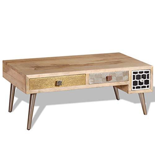 Preisvergleich Produktbild Generic .od Holz-Beistelltisch aus Holz mit SI aus Metall für Büro / Büro / Metall / Go / Holz / Holzschubladen / Massivroweren / Couchtisch / Aufbewahrungstisch