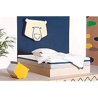 Tediber El Increíble Colchón Doble 150 x 190cm - Firme y Acogedor a la Vez -
