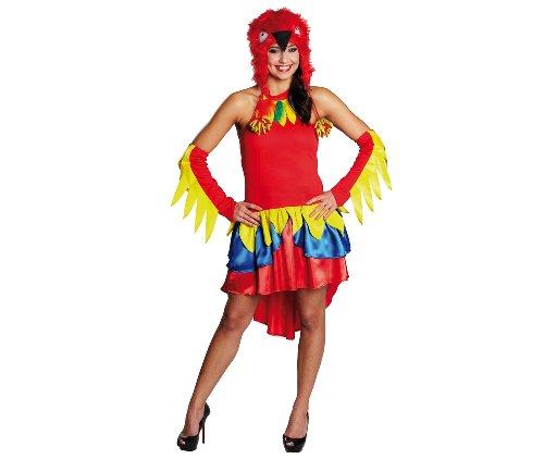 Faschingskostüm - Papagei Kleid Gr. (Papagei Kostüm Ideen)