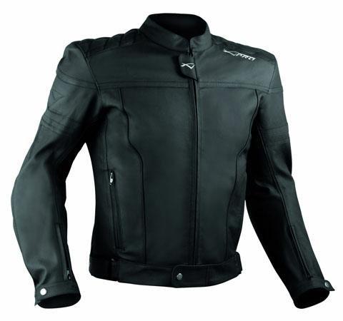 Giacca Giubbino Moto Pelle Sfoderabile Sport Custom Naked Protezioni Nero L