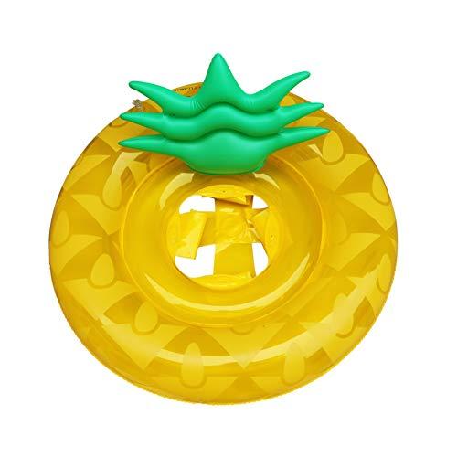 n-Ring PVC Ananas aufblasbares Schwimmen Ring für Kinder verdicken Float Lifebuoy Pool-Party Spielzeug Pool Supplies ()