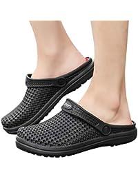 Sandalias para Hombre Cebbay Zuecos Unisex Adulto Zapatillas De Verano Ligeros Zapatillas Mujer Hombre