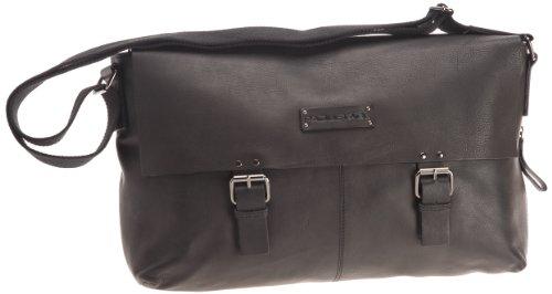 Paquetage Maxi gibecière Brisbane, Borsa per Laptop, Nero (Noir), Taglia Unica