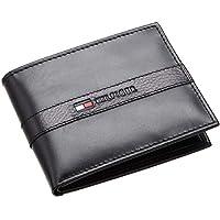 Tommy Hilfiger Men's Bradford Passcase Wallet, Black,