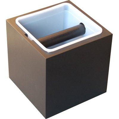 Trester / Abklopfkasten für Kaffeesatz 'Classic' schwarz / black