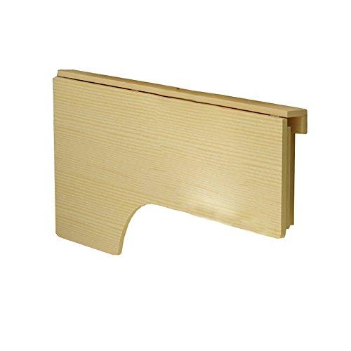 Massivholz Theke Höhe Tisch (DS Wandtisch Holz Wand Klapptisch Leichte Theke Höhe Wand-Drop-Blatt Holztisch Klappküche & Esstisch Schreibtisch && (größe : 100 * 60cm))