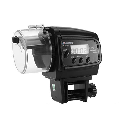 Popetpop alimentatore automatico elettronico del temporizzatore del mangime per pesci per l'acquario che pesca acquacoltura nessuna batteria inclusa