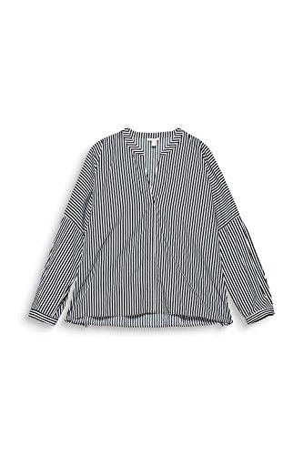 ESPRIT Damen Bluse Mehrfarbig (Navy 400)