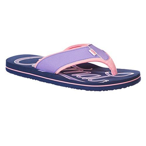 Animal Swish Logo Women's Flip Flop - Sailor Blue-UK 6