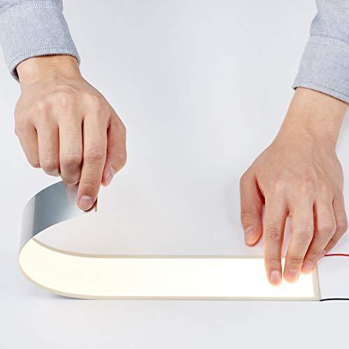 UIV OLED Flexibel 400x50mm Panel CCT 3000K Natürliches Licht Organische LED-Lampe