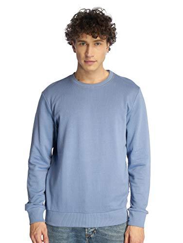 JACK & JONES Herren Sweatshirt O-Neck Basic Sweater Pullover (L, Infinity) (Infinity-sweatshirt)