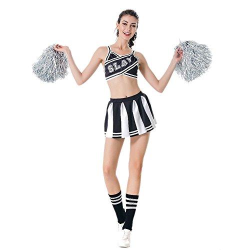 (LCWORD Halloween Kostüme Fußball Cup Cheerleader Uniform Tanz Kleid Fußball Mädchen Sport Cosplay Cheerleading)