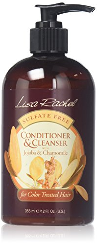 Lisa Rachel Sulfate Free Conditioning Cleanser Shampoo for Color Treated Hair 355 ml (Pack of 2)