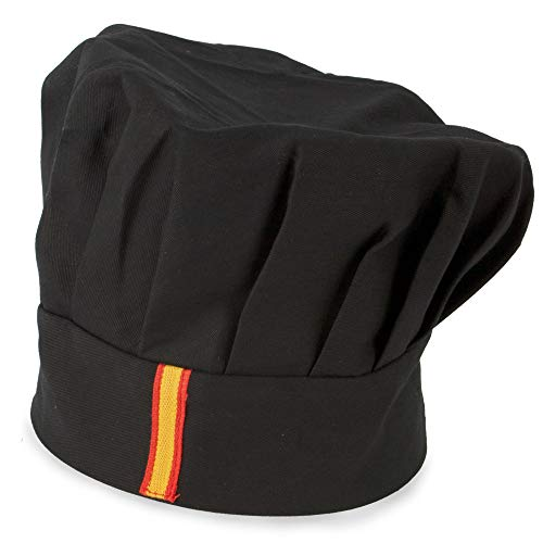 My Custom Style Gorro Chef Ajustable Negro