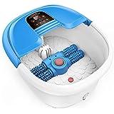 Masajeador spa para pies AREALER Hidromasaje para pies con rodillos automáticos de masaje, Control de temperatura por Infrarrojo, Masaje con burbujas, perfecto para aliviar el estrés de pies