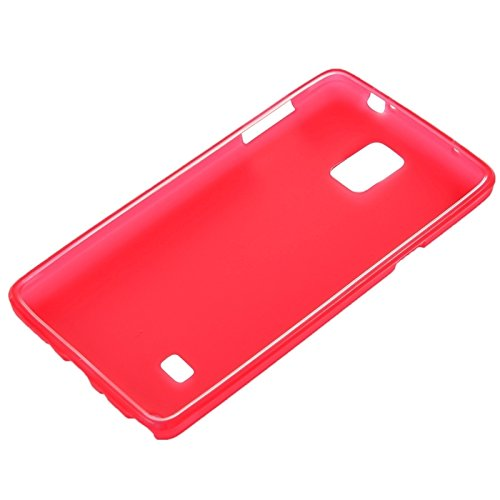 wkae Schutzhülle Case & Cover Double Frosted TPU Case für Samsung Galaxy Note 4 rot