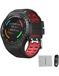 feiledi Trade Montre numérique pour Homme Montre Intelligente Bluetooth SMA-M1 Montre Sport GPS Appel Bluetooth Appel Multi-Sport Mode Boussole Altitude Sports de Plein air Montre Intelligente