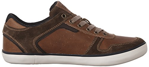 Geox U Box C, Baskets Basses Homme Marron (Browncotto/Brownc0235)