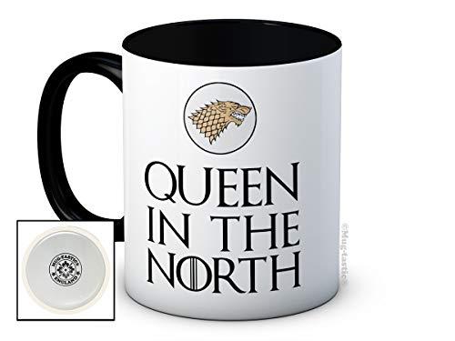 Queen Kostüm Of Thrones - mug-tastic Queen in The North - Sansa Stark - Game of Thrones - Hochwertige Kaffeetasse