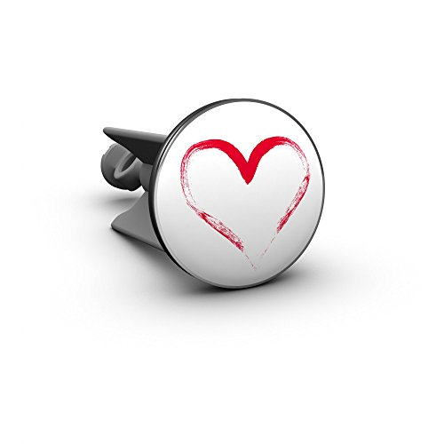 Waschbecken Stöpsel Herz, das Original von Plopp®, Qualität made in Germany