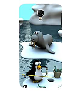 ColourCraft Cartoon Design Back Case Cover for SAMSUNG GALAXY NOTE 3 NEO N7505