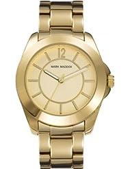 Mark Maddox MM3004-95 - Reloj de cuarzo para mujer, correa de otros materiales color dorado