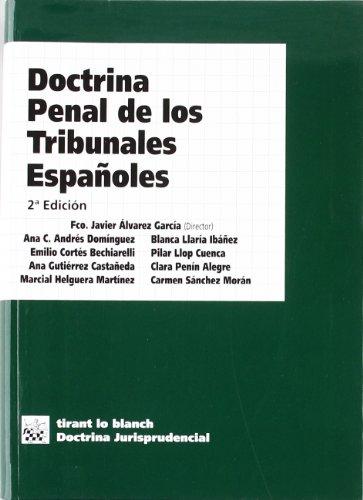 Portada del libro Doctrina Penal de los Tribunales Españoles