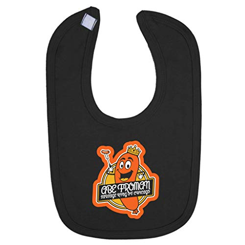 Off Abe Forman Sausage King Of Chicago Baby And Toddler Bib ()