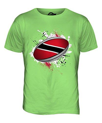 CandyMix Trinidad Und Tobago Rugby Ball Herren T Shirt Limettengrün
