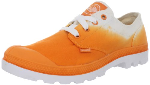 Palladium Schuhe - Sneaker BLANC OX - orange fade, Größe:36 (Dip Dye Schuhe)