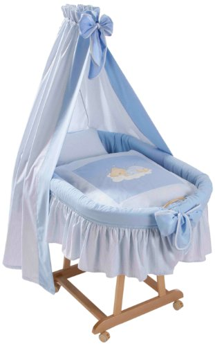 Easy Baby 485-81 Stubenwagenset Sleeping Bear blau