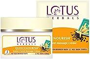 Lotus Herbals Quincenourish Quince Seed Facial Massage Cream, 250g