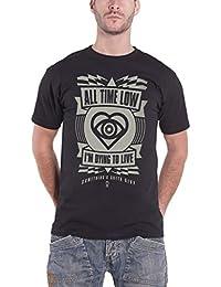 All Time Low T Shirt Hypno Future Hearts band logo officiel Homme Noir