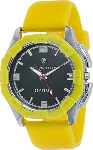 Optima Analog Black Dial Men's Watch - FT-ANL-2474