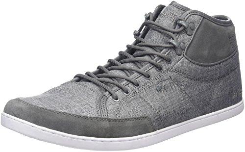 Boxfresh Swapp 3 (Prem), Baskets Homme Grau (Steel Grey)