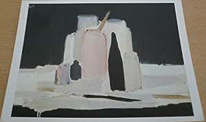 Nicolas de staël - La bouteille noire - 10x15 cm CARTE POSTALE