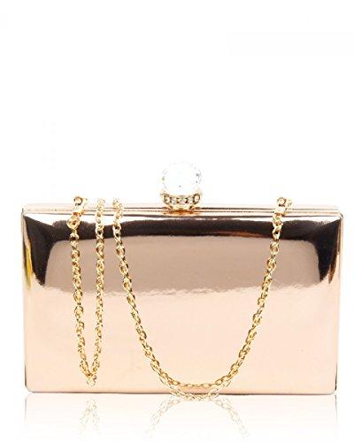 sale-sale-womens-designer-hard-case-metal-box-ladies-evening-prom-party-clutch-bag-rose-gold