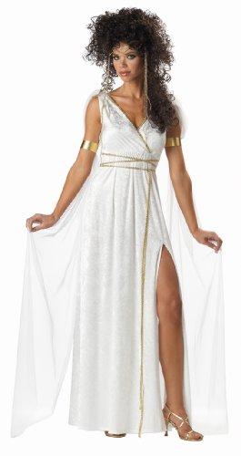 Athenian Goddess Frauen Kostüm, Weiß - Weiß, XL
