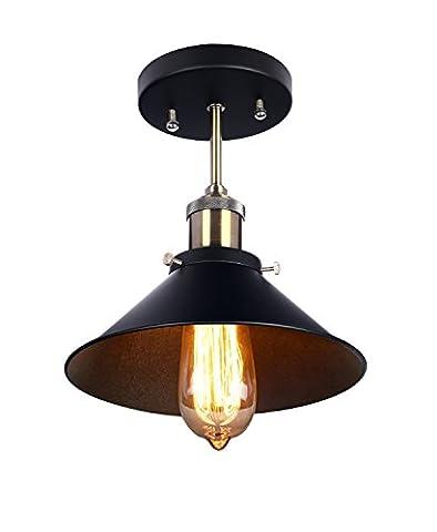 TryLight Industrial Vintage Pendant Light Shade, Retro Ceiling Lighting Coffe Bar Restaurant Home Pendant Lamp Shade, E27 Base [Energy Class A+]