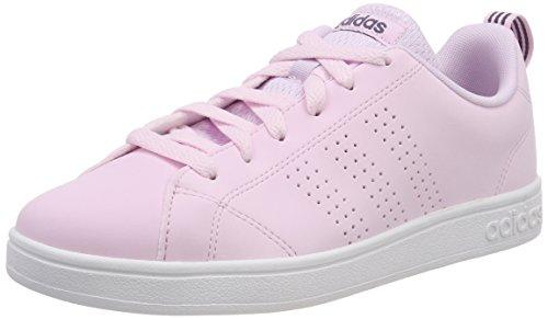 adidas Vs Advantage Cl W, Scarpe da Tennis Donna, Rosa Aerpnk/Ftwwht 000, 38 2/3 EU