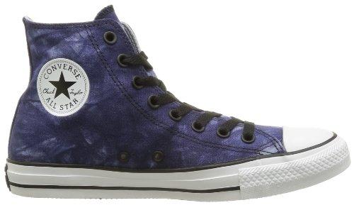 Converse, Chuck Taylor All Star Tie Dye HI, Sneaker,Unisex - adulto blu (Bleu (Bleu/ Gris Clair))