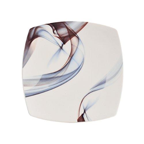 Mikasa Kya Square Salad Plate, 8-Inch Mikasa-square Plate