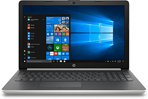 "HP Pc 15-da0117nl Notebook, Schermo 15.6"" FHD Antiriflesso, Processore i5-8250U, 8 GB di RAM, SATA da 1 TB, Intel Optane da 16 GB, Nvidia GeForce MX110, Argento Naturale [Layout Italiano]"