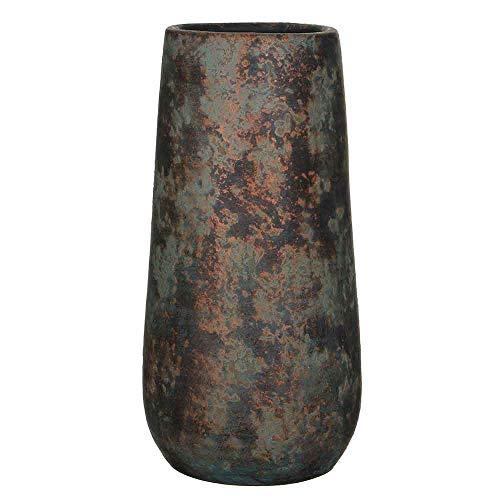 MICA Decorations Clemente Vase rund Kupfer - h55xd21,5cm