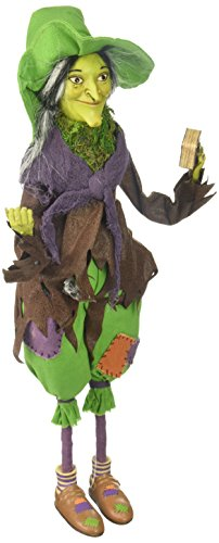 Department 56 Haunted Dachboden Agnes der Frosch Hexe Figur, 45,7cm -