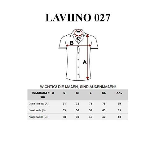 BOLF Herren Freizeithemd Herrenhemd Kurzarm Slim Fit Hemd Klassisch 2B2  Casual Hellblau 18d02976e3