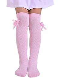 Yiding - Calcetines hasta la rodilla - para niña