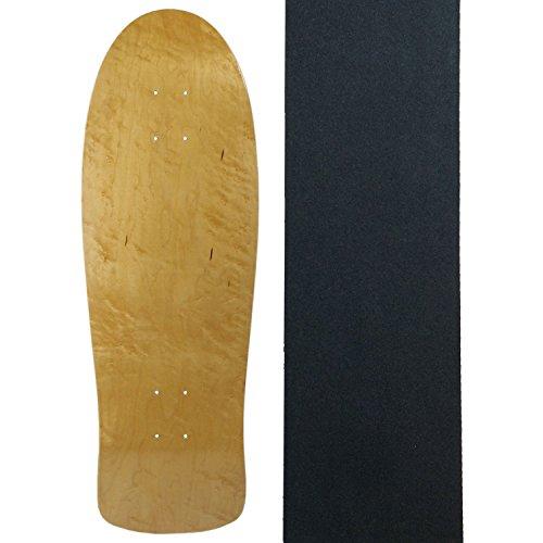 Moose Elch Old School Skateboard Deck mit Griff, Natur