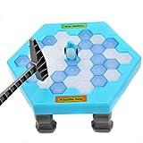 Puzzle Jouet, LILYYONG Noël Toy Save Penguin Ice Kids Jeu de réflexion Break Ice Block Hammer Trap Party Toy